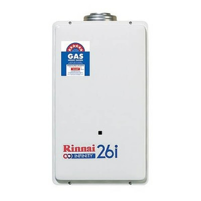 Rinnai Infinity 26I Preset 60C Natural Gas Internal Continuous Flow Hot Water System INF26IN60M