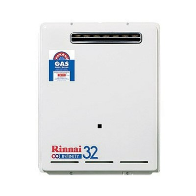Rinnai Infinity 32 Preset 50C Natural Gas Continuous Hot Water System INF32N50M