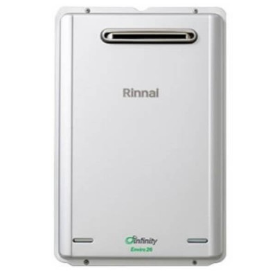 Rinnai Infinity Enviro 26 Preset 50C Natural Gas Continuous Flow Hot Water System INF26EN60