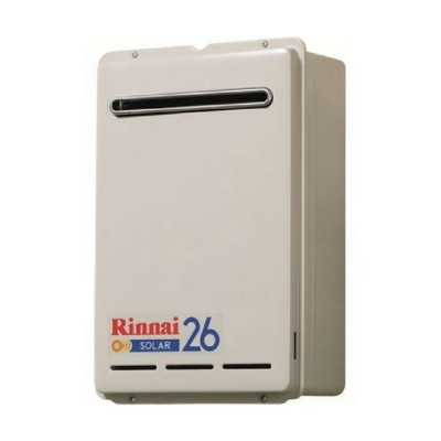 Rinnai S26 Solar Booster Continuous Flow Hot Water System Nat Gas S26N70
