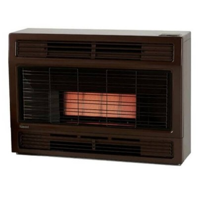 Rinnai Spectrum Console Space Heater Metallic Brown NATURAL GAS SPECMBN