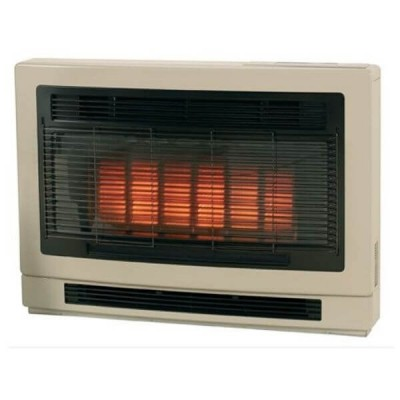 Rinnai Ultima II Inbuilt Space Heater Beige NATURAL GAS ULT2IN