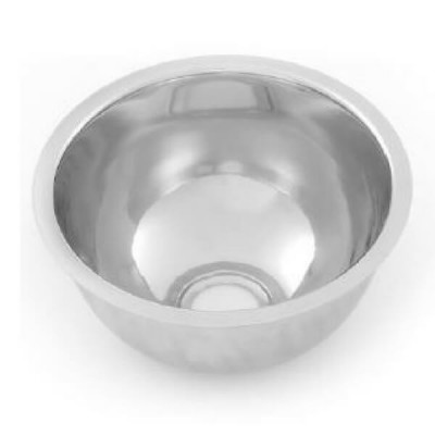 Round Pressed Bowl 445mm X 165mm Stainless Steel RB445