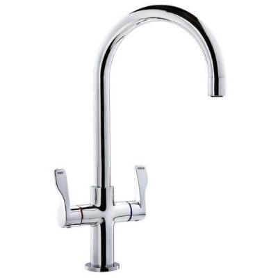 Ewing Santa FE Cruze Twinner Kitchen Sink Mixer Chrome MT007