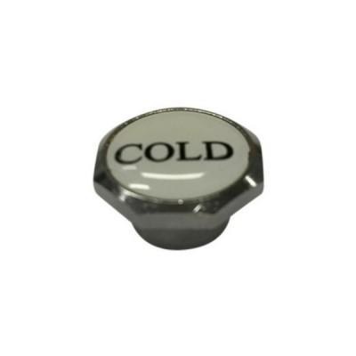 Standard Button Cold Chrome