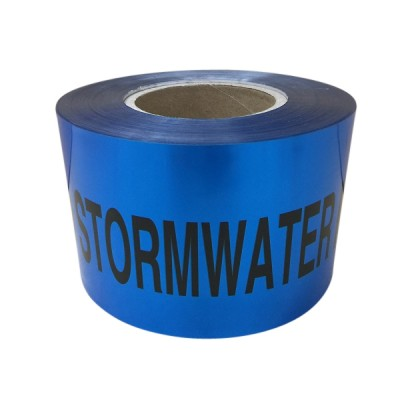 Stormwater Line Tape 100mm X 100m Detectable