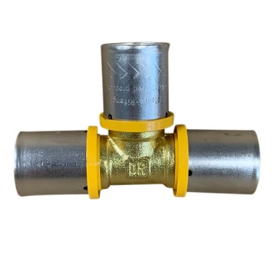 20mm Tee Equal Gas Water Pex