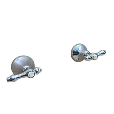 Traditions Lever Wall Top Assembly Chrome Gold Ceramic Disc TL1588