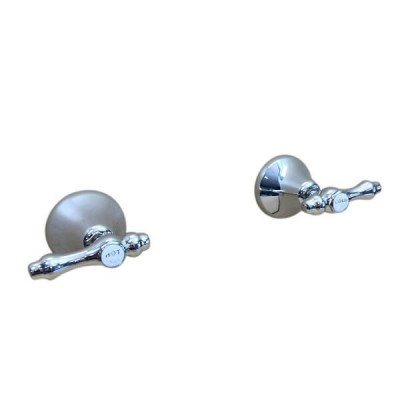 Traditions Lever Wall Top Assembly Chrome Ceramic Disc TL1571 (Pair)