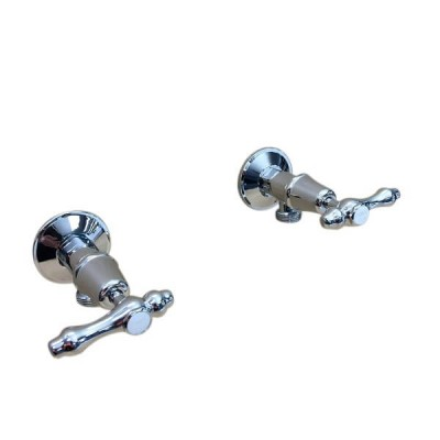 Traditions Lever Washing Machine Stops Chrome Ceramic Disc TL2319