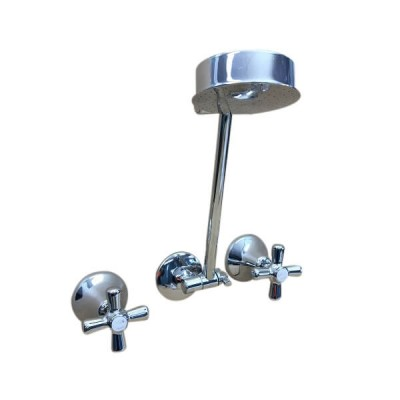 Traditions Shower Set Chrome Ceramic Disc All Directional Arm STC140