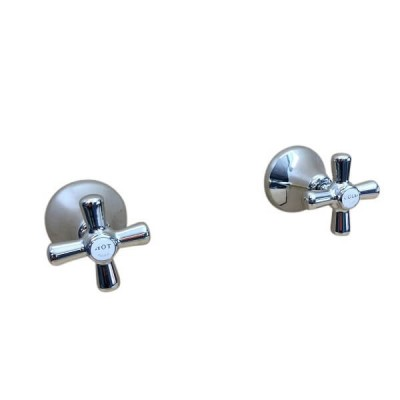 Traditions Wall Top Assembly Chrome Ceramic Disc STC220