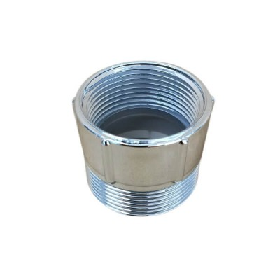Trap Adaptor PVC Chrome 40mm Male BSP X 32mm Female BSP 18869