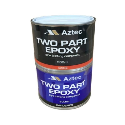Two Part Epoxy Pipe Joint Putty Compound 1 Litre (Ferropre)
