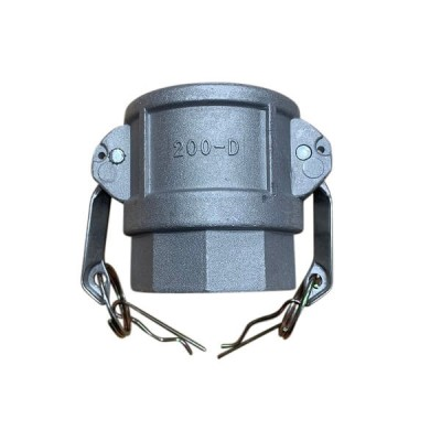 150mm Type D Female Camlock to Female BSP Coupling Alloy