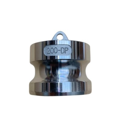 40mm Type DP Male Camlock Dust Plug Alloy
