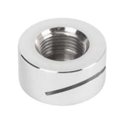 "Urinal Spreader Button Rear Entry 15mm 1/2"" BSP Inlet Chrome URNSB1"