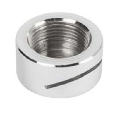 "Urinal Spreader Button Rear Entry 20mm 3/4"" BSP Inlet Chrome URNSB2"