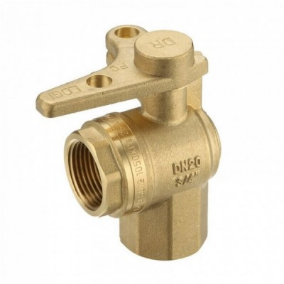 Water Meter Ball Valve Right Angle Lockable 20Fi X 20Fi