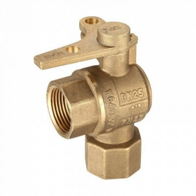 Water Meter Ball Valve Right Angle Lockable 25Fi X 25Fi