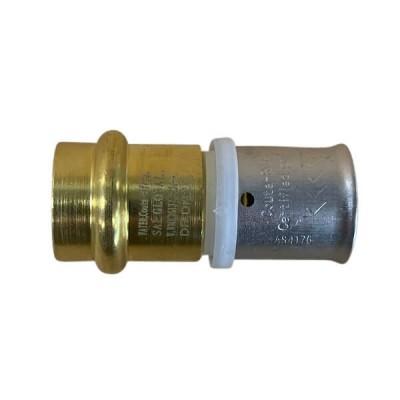25mm Water Pex To 25mm Copper Crimp Adaptor