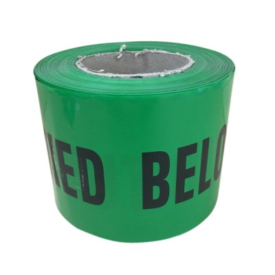 Water Warning Tape 100mm X 100m Non Detectable