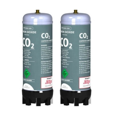 Zip 91295 Disposable CO2 Replacement Cylinder Canisters