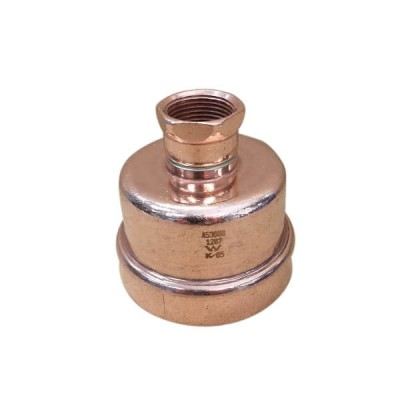 100mm End Cap Gas Copper Press