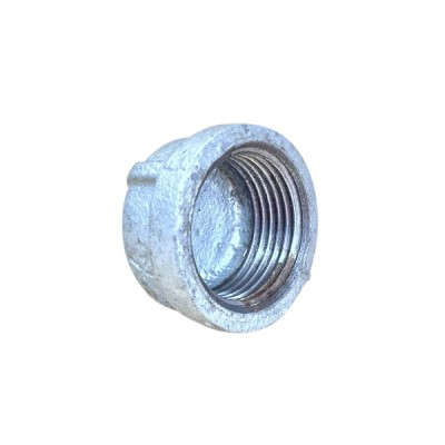 100mm Galvanised Cap