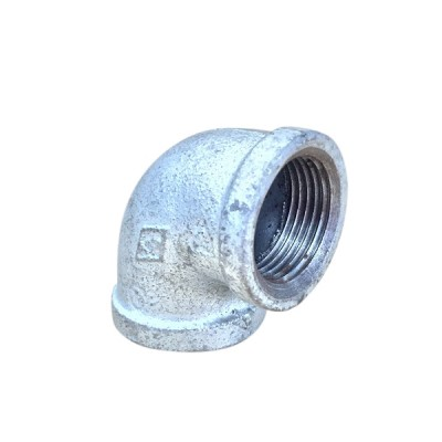 100mm Galvanised Elbow F&F
