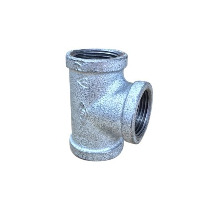 100mm Galvanised Tee