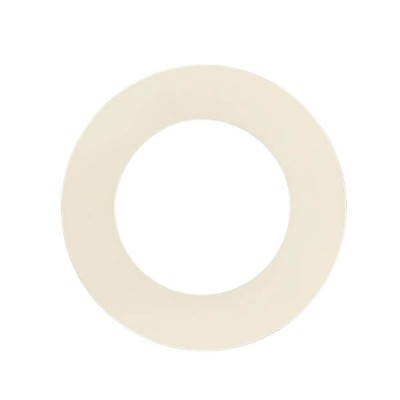 100mm Round Flat PVC Cover Plate White Suit DWV