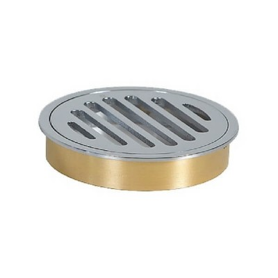 100mm Shower Floor Grate Cp Round Drop In Suit Hdpe