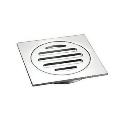 100mm Shower Floor Grate Cp Square Drop In Suit Pvc Short Tail