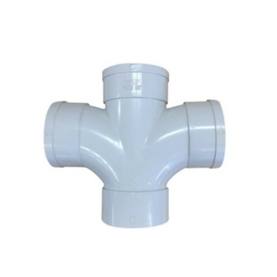 100mm X 85 Deg Double Junction F&F Dwv