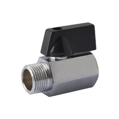 10mm M&F Mini Ball Valve Brass
