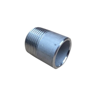 "10mm 3/8"" Weld Nipple BSP Stainless Steel 316 150lb"