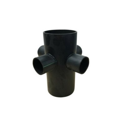 110mm X 56mm 4 Way Riser Junction HDPE Electrofusion