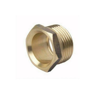 "15Mi X 15C 1/2"" Tube Bush Male Brass"