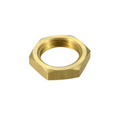 "15mm 1/2"" Brass Lock Nut"