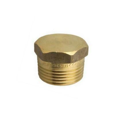 "15mm 1/2"" Brass Plug"