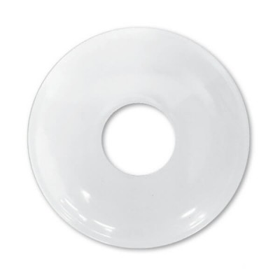 "15mm 1/2"" BSP X 10mm Rise Cover Plate White Metal"