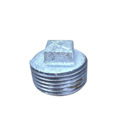 15mm Galvanised Plug Hollow