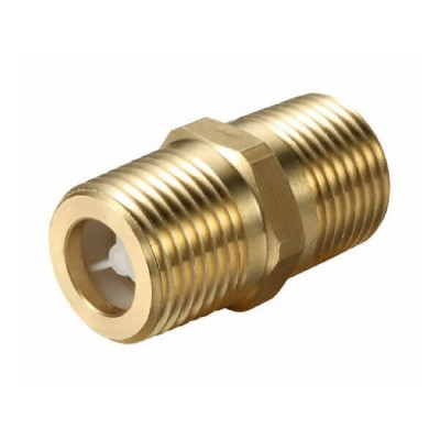 "15mm 1/2"" Mini Dual Check Valve Male X Male Brass"