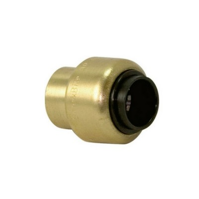 "15mm 1/2"" Stop End #61 Sharkbite Copper Push RA514"