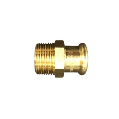 "15mm 1/2"" X 20Mi Male Adaptor Kempress Gas"