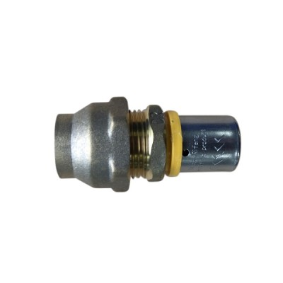 16 X 12mm Flared Copper Adaptor Gas Water Pex
