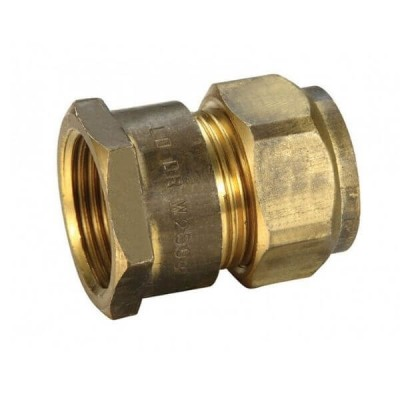 20mm Female BSP X 20C Copper Olive Union Compression