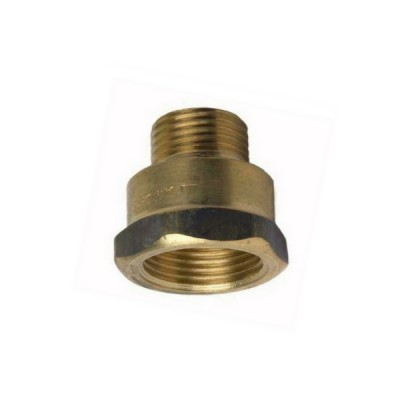 20mm X 15mm Brass Socket M&F