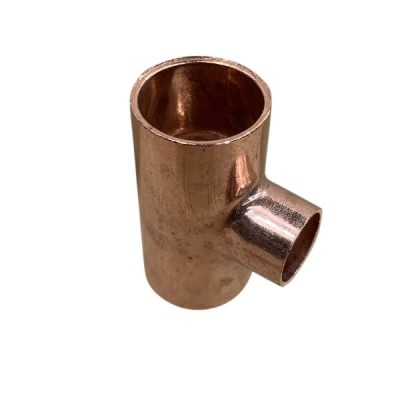 "20mm X 15mm 1/2"" Copper Capillary Tee W25"